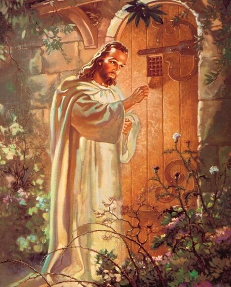 The Lord Jesus Christ Knocking On The Door Art Print 8 Quot X