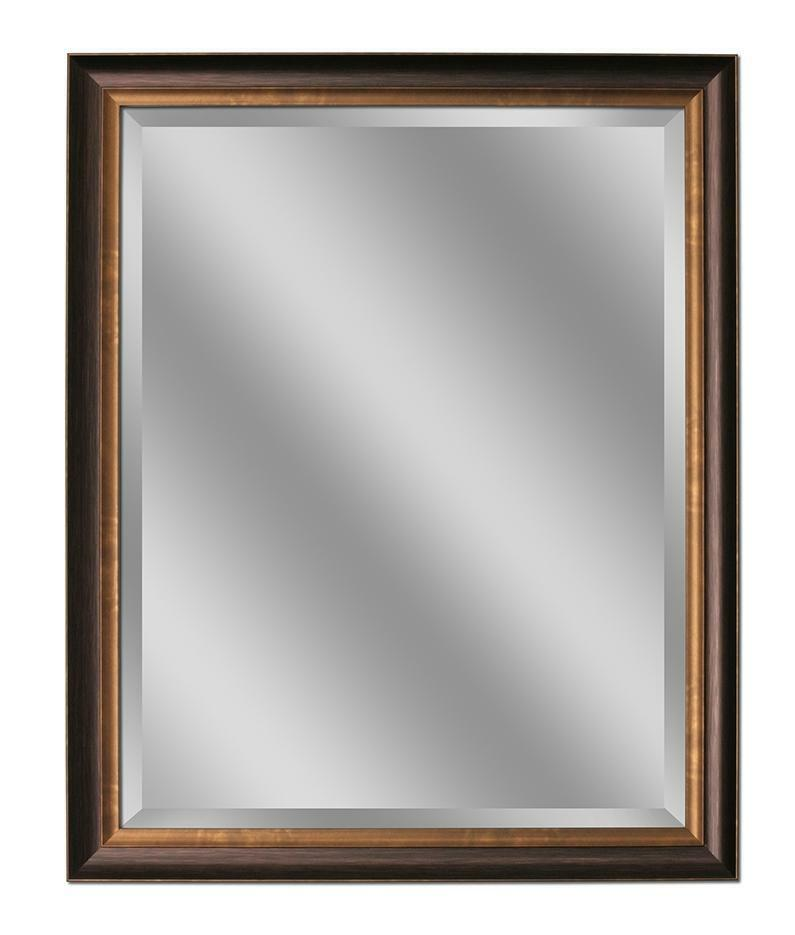 Oil Rubbed Bronze Wall Mirror 26 X32 8923 Ebay