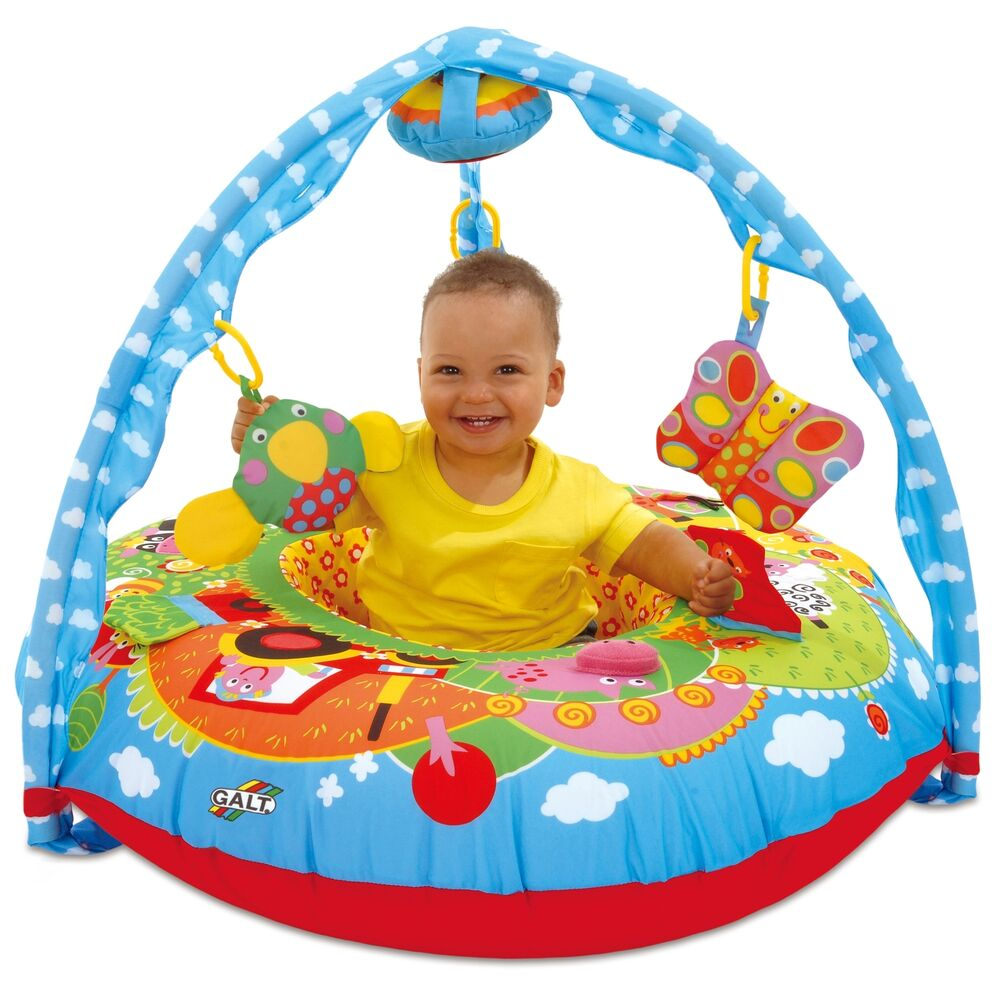 Toddler Toys For Babies : Galt toys first years baby playnest play mat inflatable