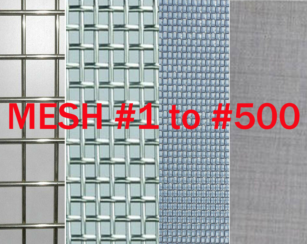 Stainless Steel Woven Wire Mesh 4 Mesh 6 Quot X 6 Quot Type 304