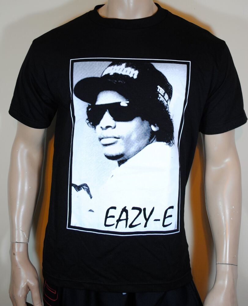 Eazy e mens t shirt straight outta compton nwa tee ebay for Straight from the go shirt
