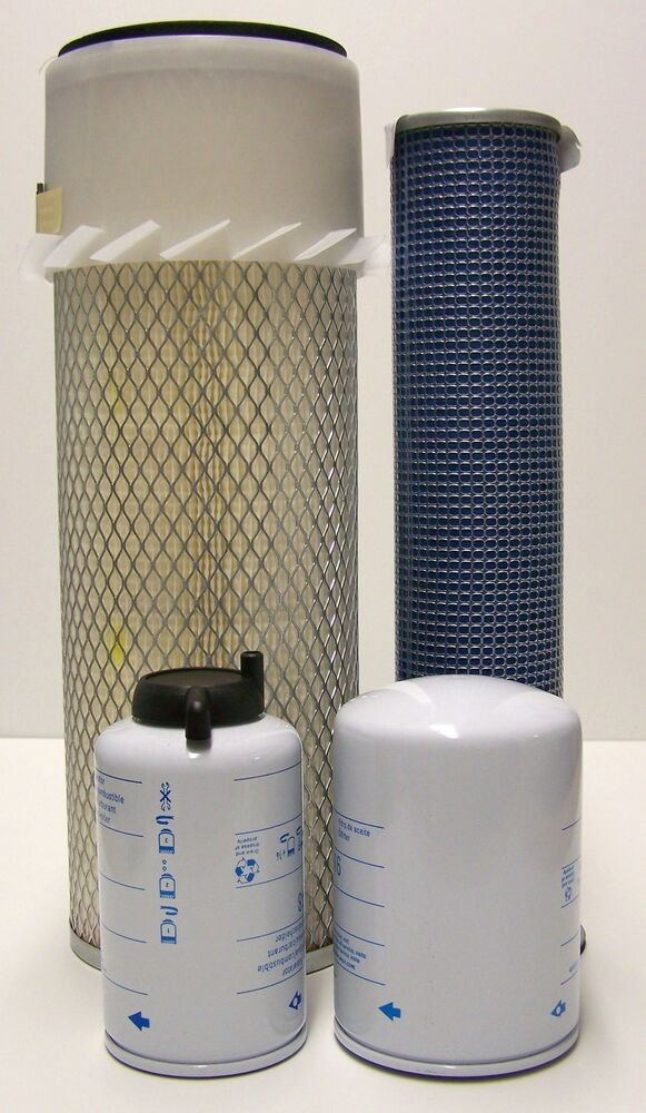 case fuel filter filter kit for case 1840 skid steer includes air outer and ... #8