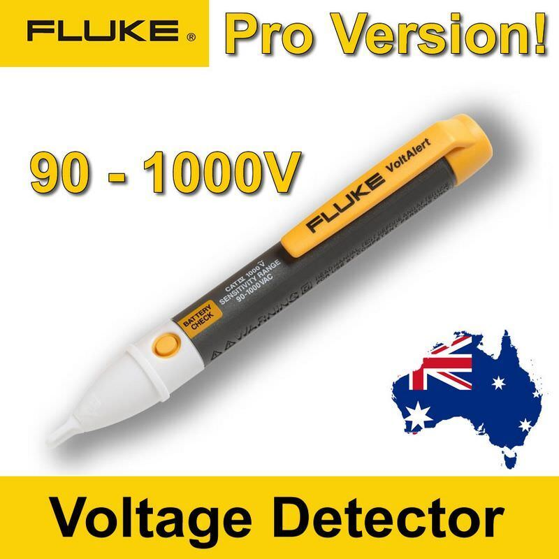 Fluke Voltage Detector : Fluke ac v non contact voltage detector tester
