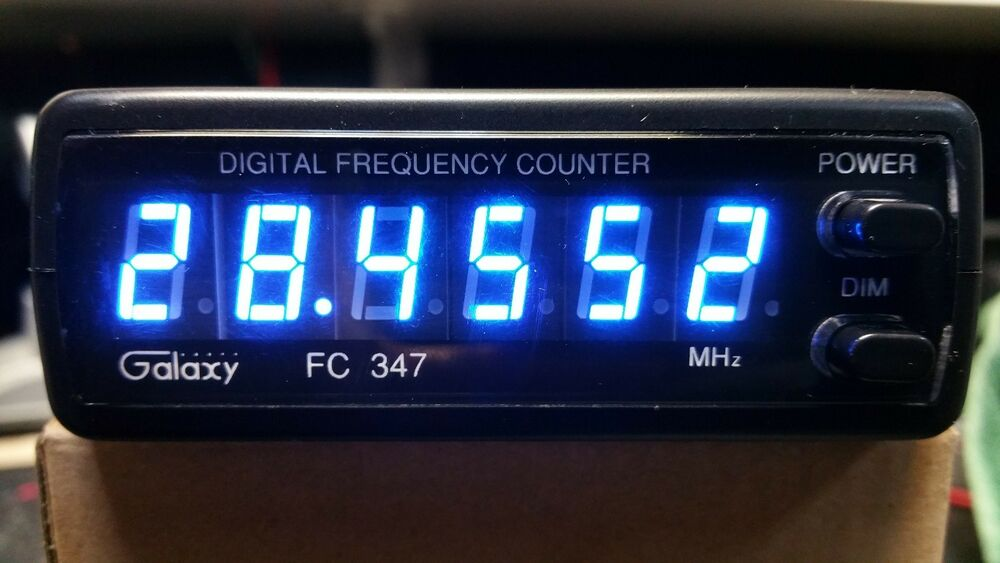 Cb Frequency Counter : Galaxy cb ham meter radio digit frequency counter
