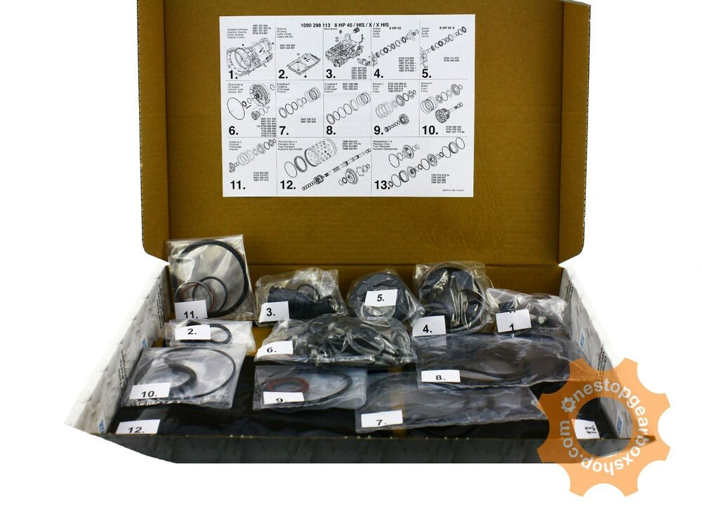 Zf 8hp45 Automatic Transmission Gearbox Overhaul Kit