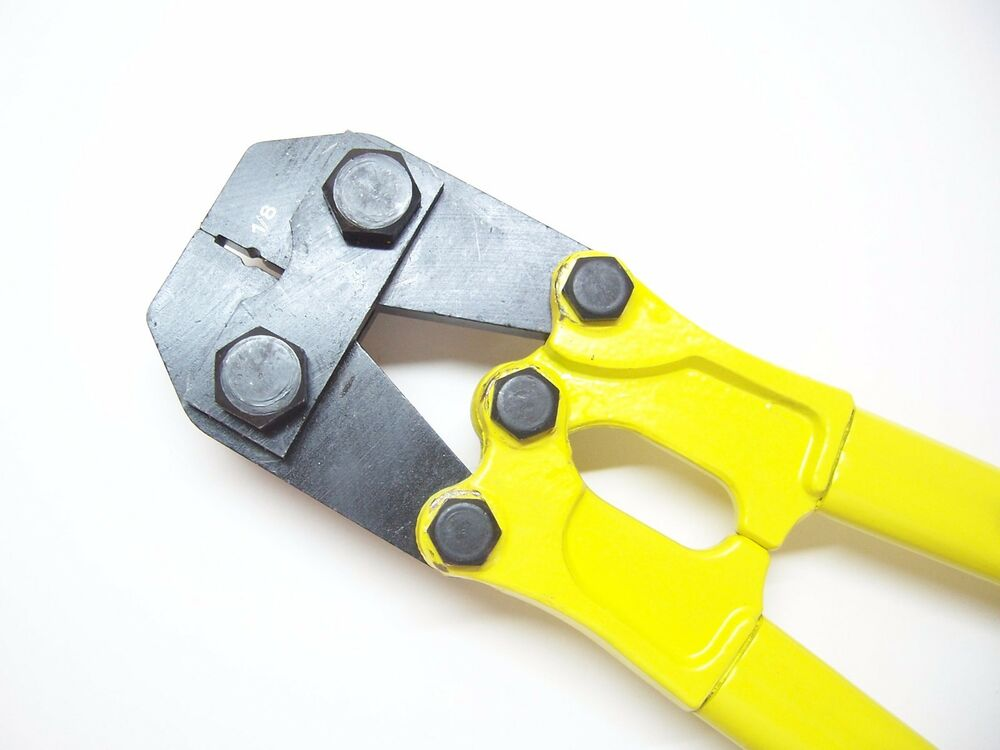 Steel Cable Swage : Hand swager swaging tool for quot stainless steel cable