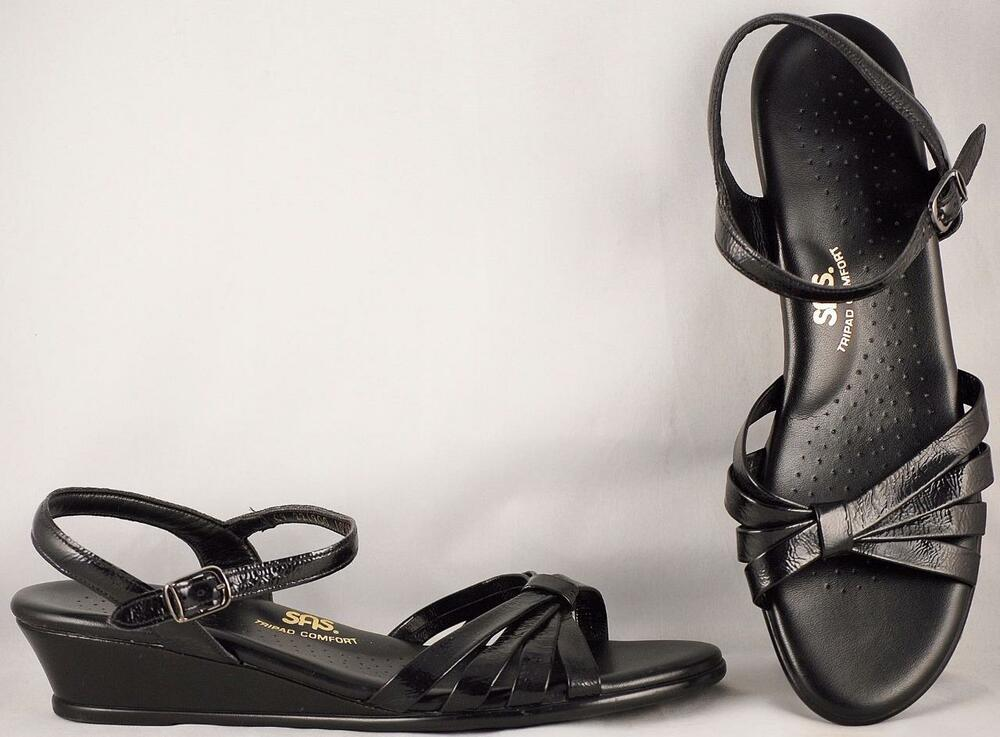 Black Patent Shoes Ankle Strap