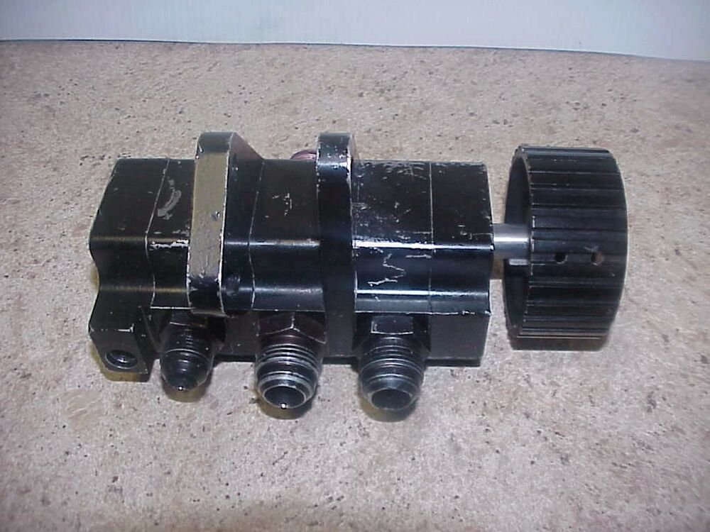 Stock Car Products: 3 Stage Dry Sump Oil Pump & Fittings Weaver Stock Car