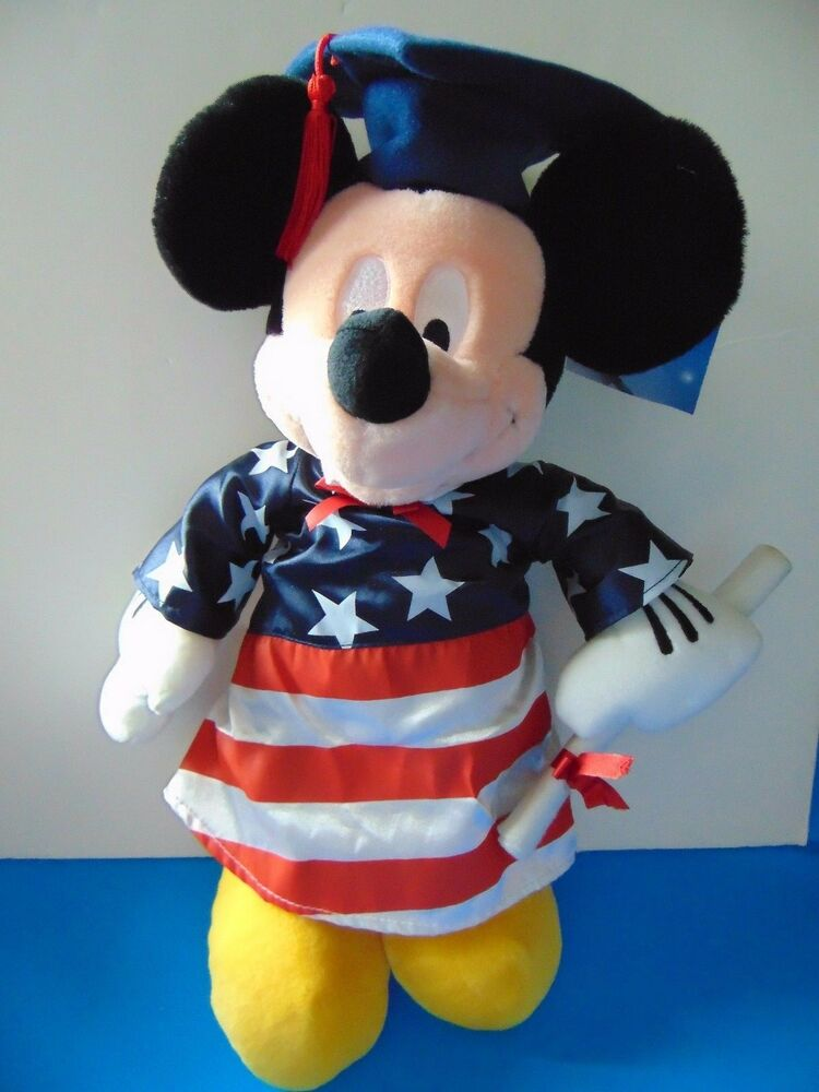 Mickey mouse graduation disney store exclusive 17 diploma cap look w tags ebay - Disney store mickey mouse ...