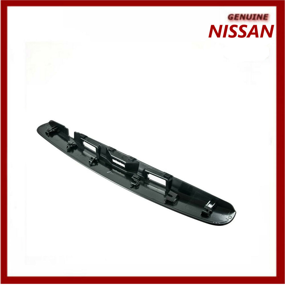 genuine nissan qashqai j10 tailgate handle non ikey non r camera new ebay. Black Bedroom Furniture Sets. Home Design Ideas