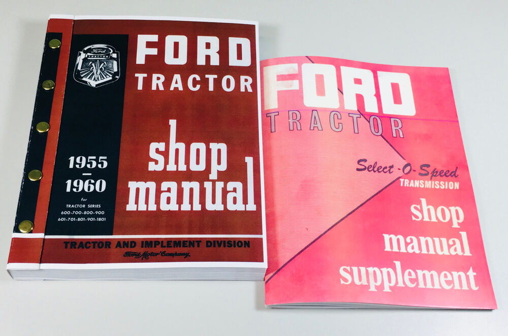 ford 2000 tractor repair manual pdf