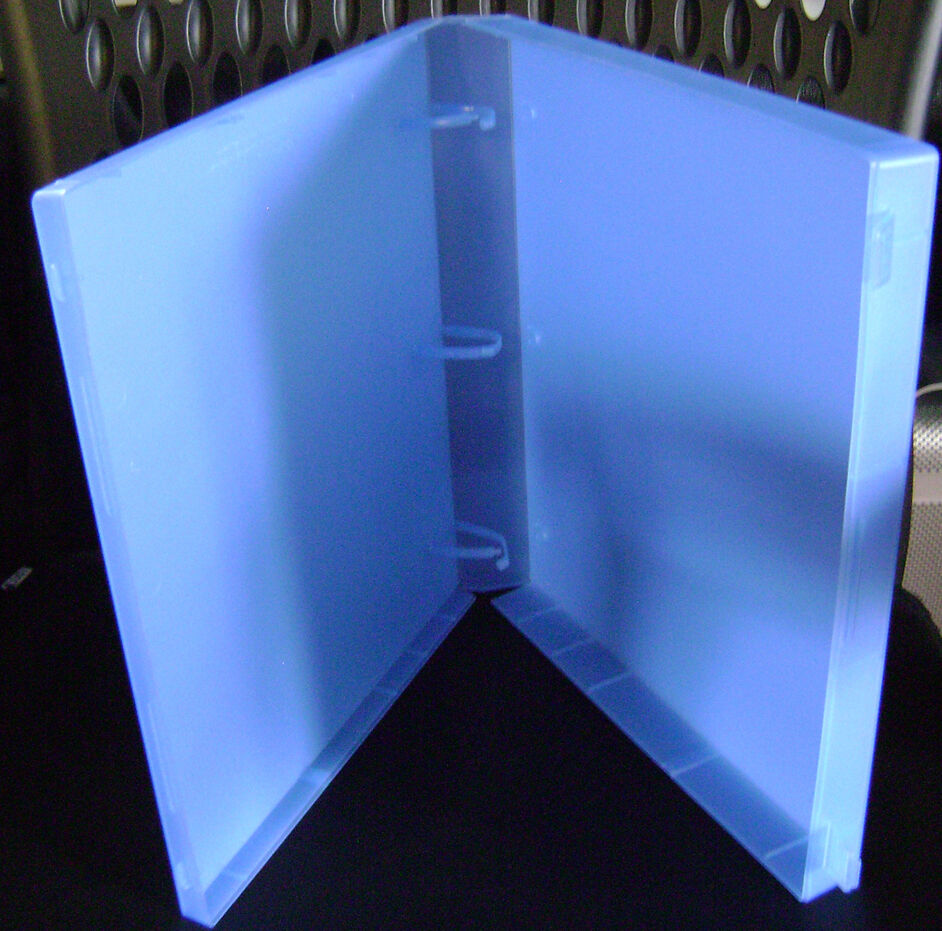 "1-1/2"" Blue View Case Binder- Letter Size 8.5x11 Storage 3"
