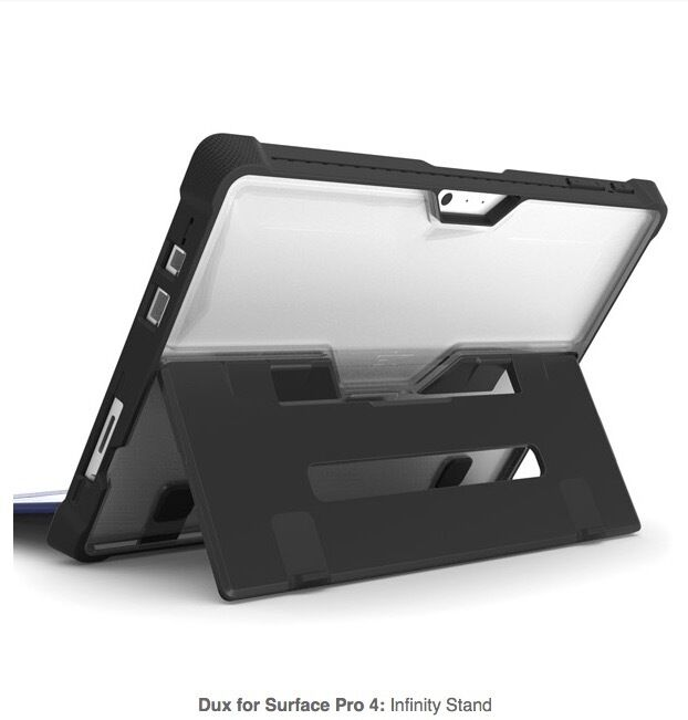 Stm Dux Rugged Protective Case For Microsoft Surface Pro 4