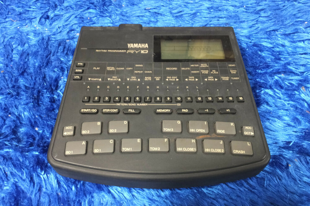 yamaha ry10 perfect working ry 10 drum machine sequencer from japan 160502 ebay. Black Bedroom Furniture Sets. Home Design Ideas