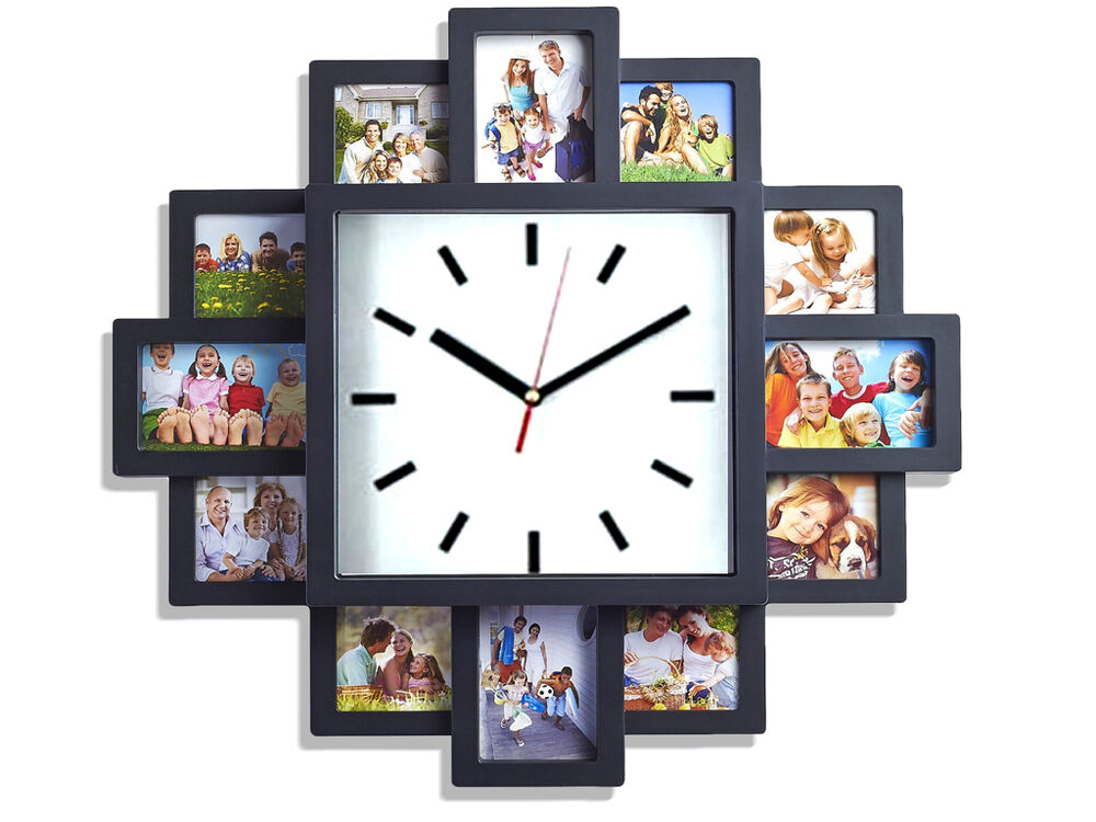 12 multi hanging aperture collage photo family picture for Modern collage frame