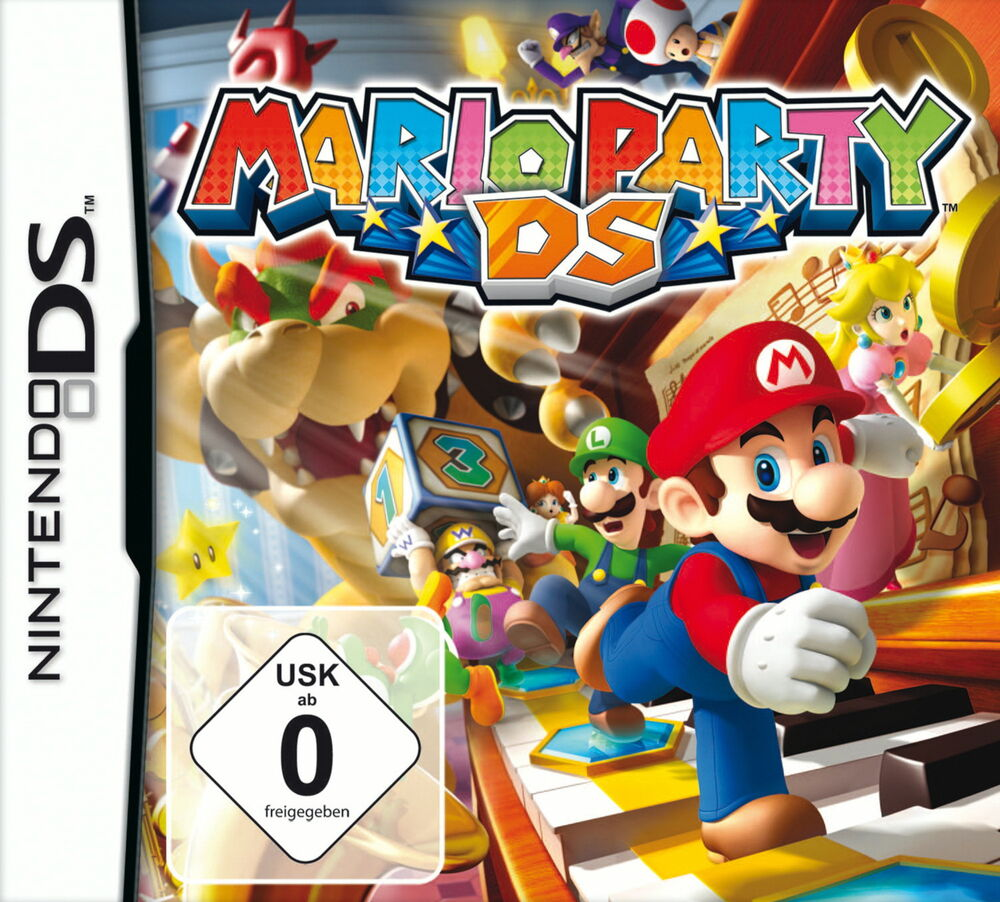 mario party nintendo ds dsi lite xl xxl 2ds 3ds spiel kinder jungs m dchen kult 0045496465889 ebay. Black Bedroom Furniture Sets. Home Design Ideas