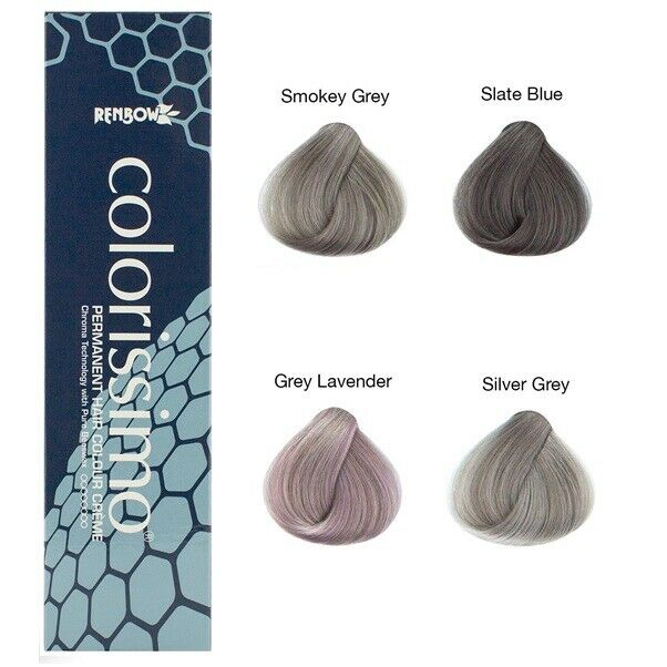 Renbow Colorissimo Permanent Hair Tint Colour Crème with ...
