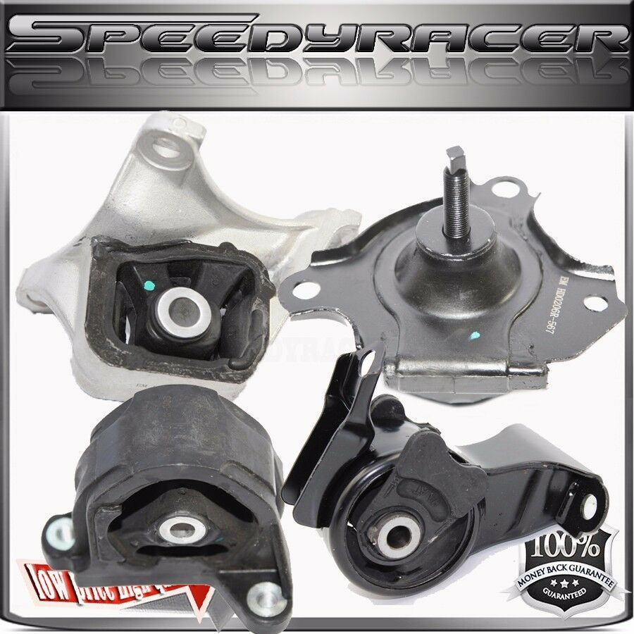ENGINE MOUNT kits for 02-06 Acura RSX 2.0L MT A4549 A4567 A4508 A4528 4pcs  644558185439 | eBay
