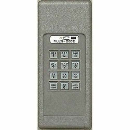 multi code 296801 wireless garage door gate opener keypad ebay. Black Bedroom Furniture Sets. Home Design Ideas