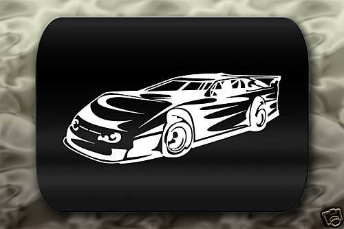 Window Decals For Cars >> Late Model Racing Sticker Dirt Track Car | eBay