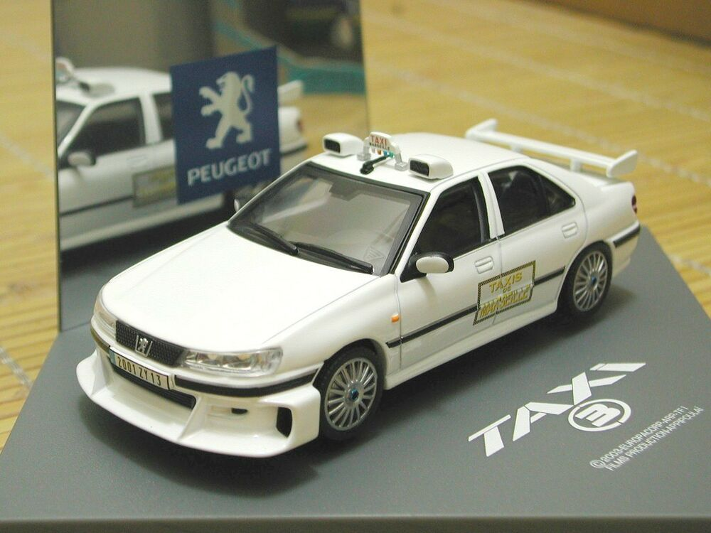 1 43 peugeot 406 taxi 3 diecast ebay. Black Bedroom Furniture Sets. Home Design Ideas