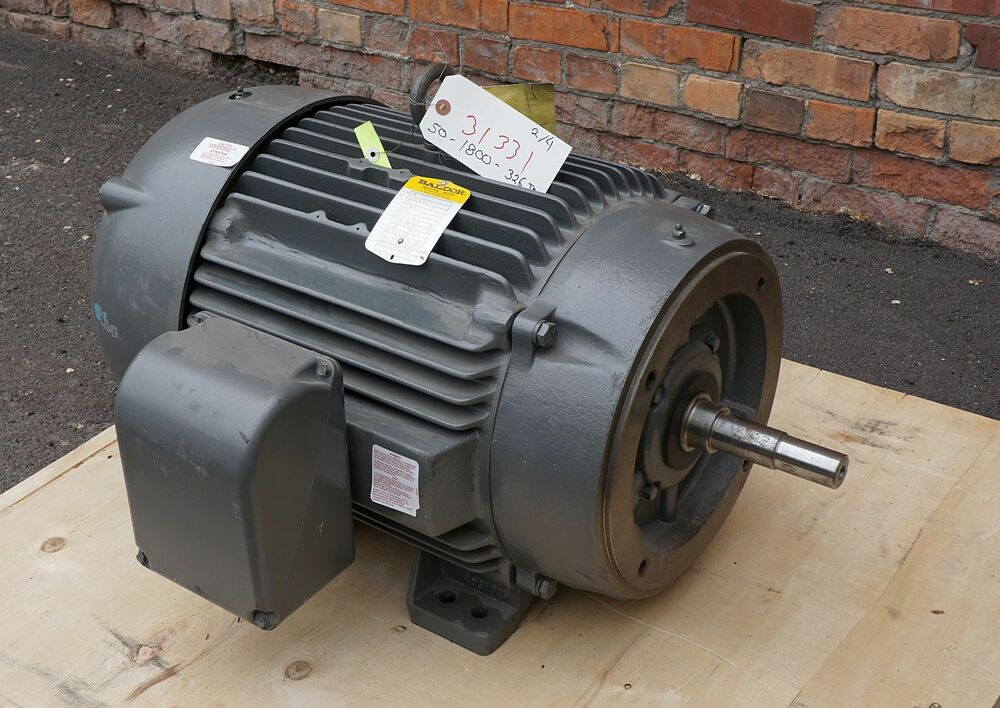 50 hp 1800 rpm fr 326jm tefc baldor electric close for 500 rpm electric motor