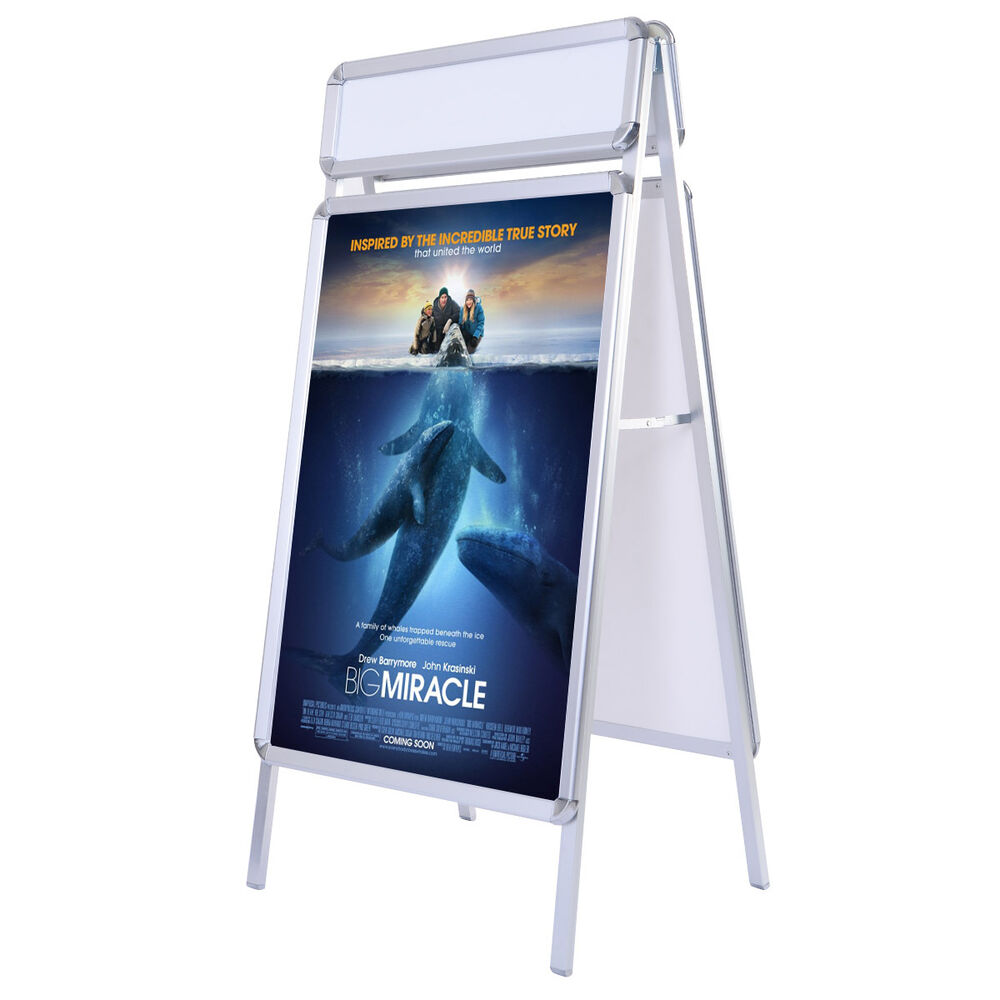 Exhibition Stand Extras : New portable a frame display board snap poster stand