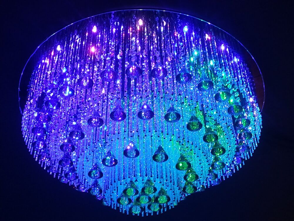 Crystal Chandelier Square Led Remote 32 Quot X32 Quot Swarovski