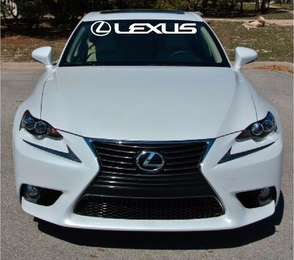 Lexus Crv: Lexus Windshield Vinyl Decal Banner Sticker
