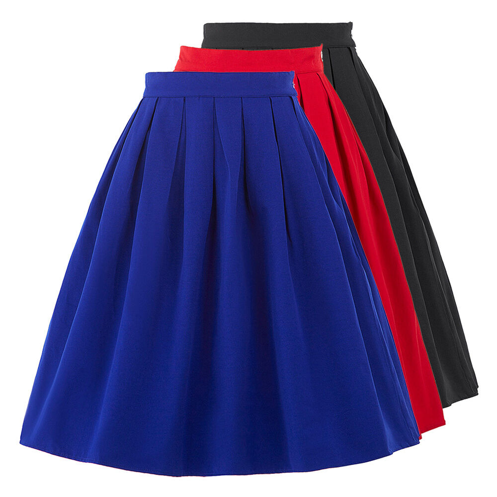 Midi Skirts Are Also For The Summer