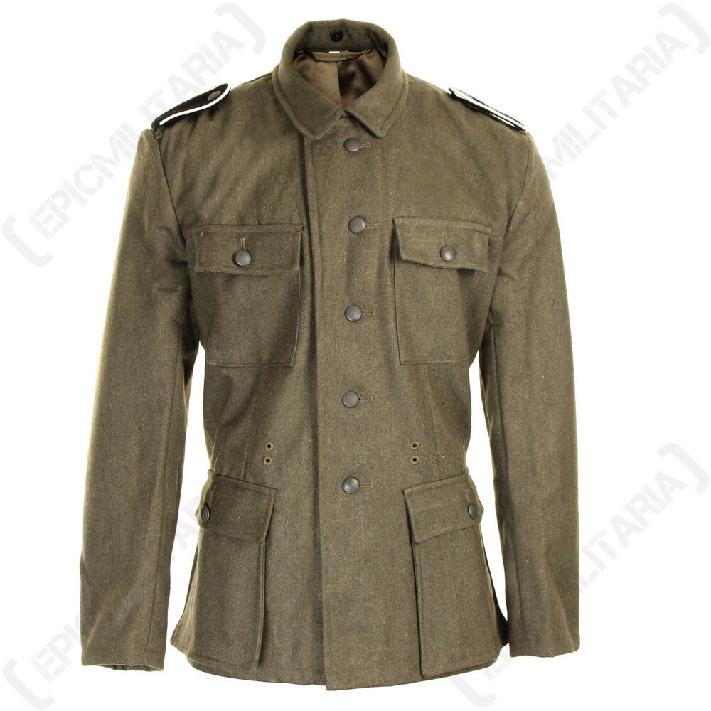 German army elite m43 wool tunic all sizes ww2 repro for Best wool shirt jackets