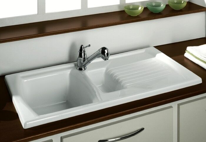 ebay sinks kitchen ceramic kitchen sink range light finish inc 3516