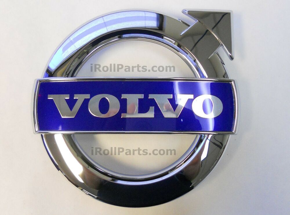 Genuine Volvo Front Grille Emblem Many Vehicles V70 C30 XC70 XC90 S60(see years) | eBay