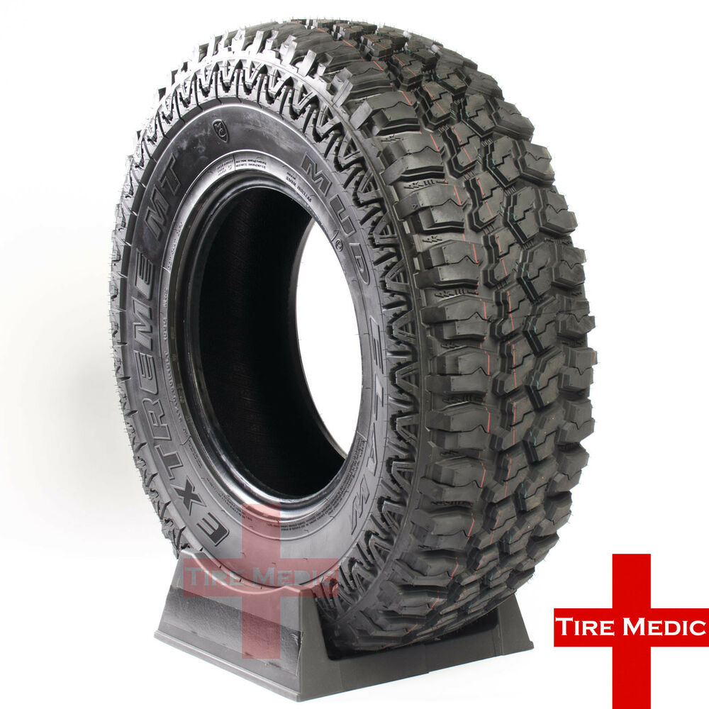 All Terrain Truck Tires >> 4 NEW MUD CLAW EXTREME M/T TIRES 35X12.50X18 35X12.50-18 35125018 LOAD E | eBay