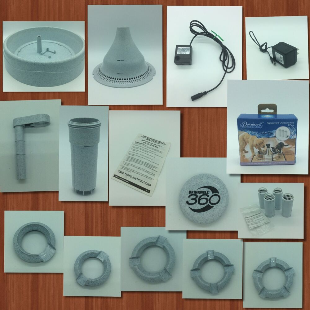 Petsafe Drinkwell 360 Water Fountain Replacement Parts Ebay