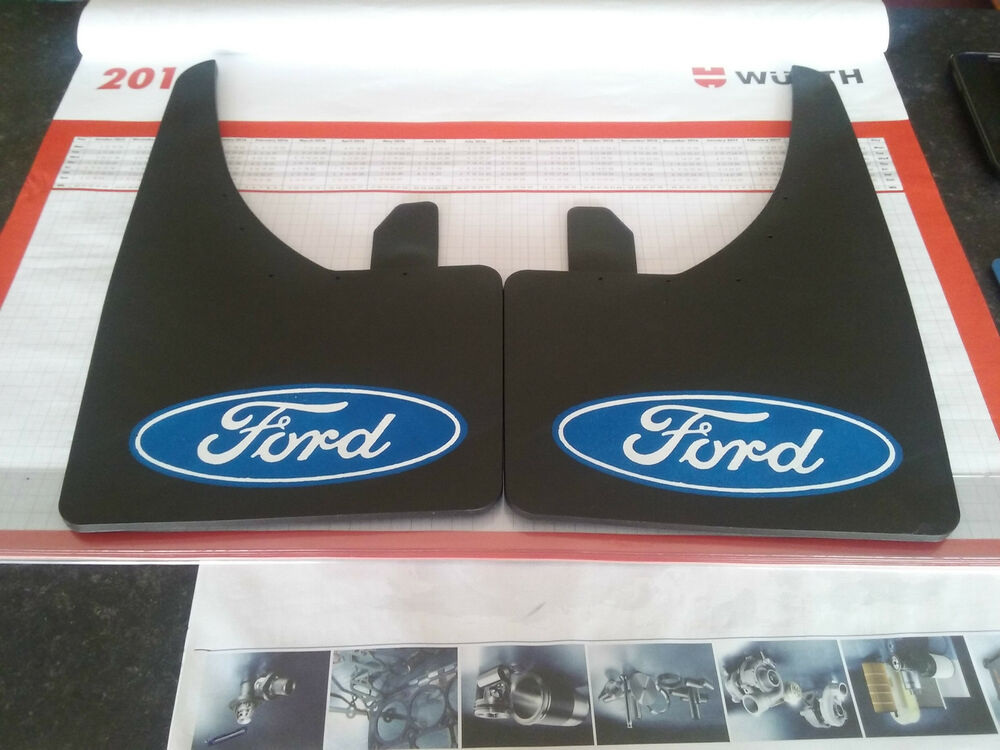 Universal Mudflaps Front Rear Ford Fits Focus Fiesta Mondeo Mud Flap Guard NEW   eBay