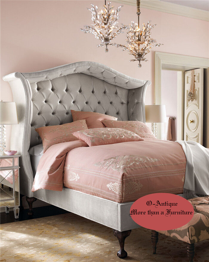 franz sisches barock bett 0 finanzierung m glich ebay. Black Bedroom Furniture Sets. Home Design Ideas