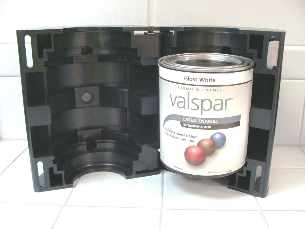 Quart paint adapter for use with all vortex paint mixers for 5 gallon paint mixer