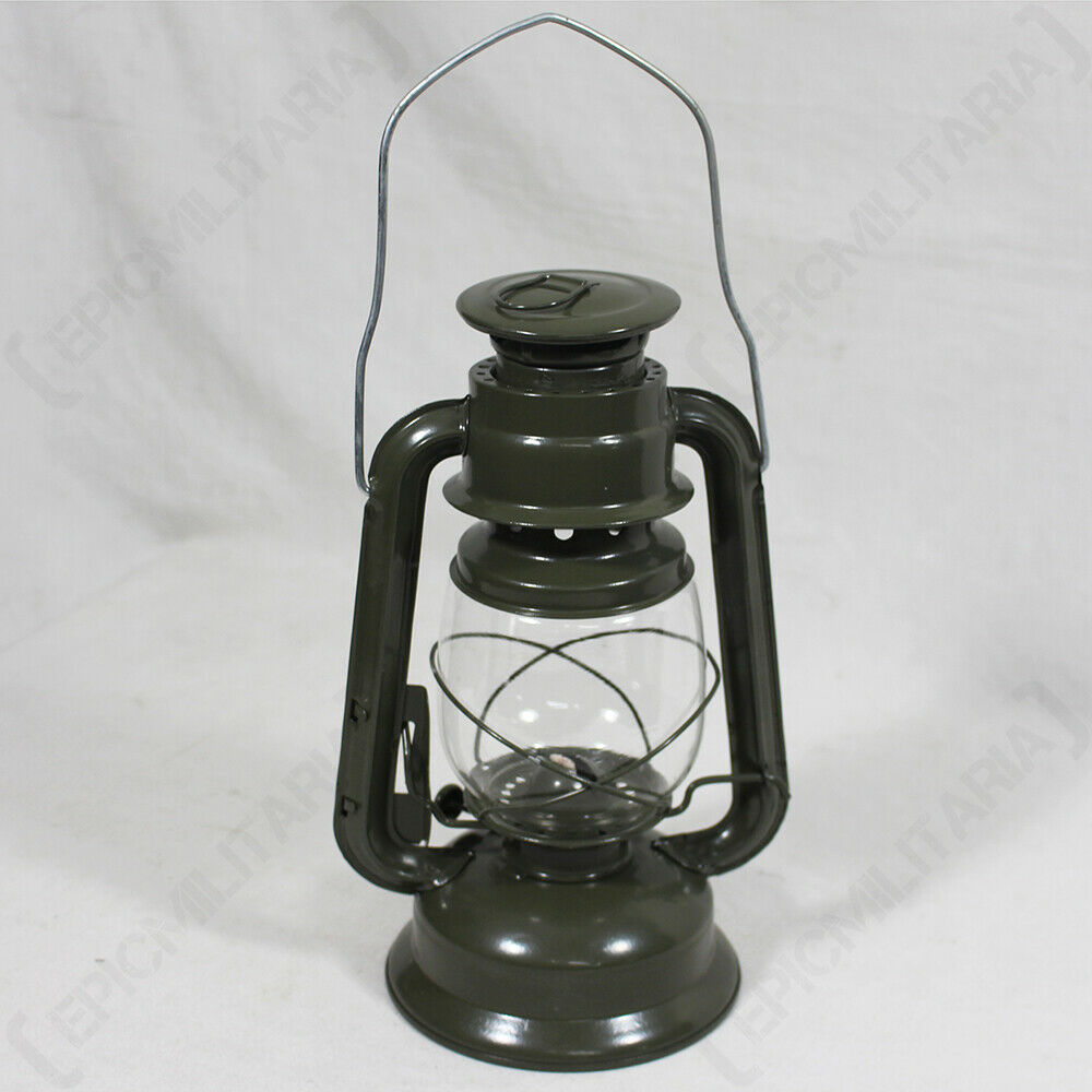 Military Kerosene Oil Lamp Camping Paraffin Lantern Us