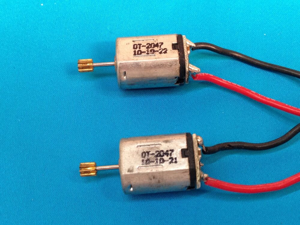 2 Pieces N20 Motor With Circuit Board Output Cooper Gear