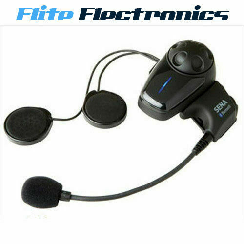 sena smh10 single kit bluetooth helmet intercom motorcycle headset motorbike ebay. Black Bedroom Furniture Sets. Home Design Ideas
