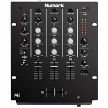 Numark M4 Black Three-Channel Scratch DJ Mixer