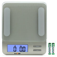 Accuweight Digital Kitchen Scale Electronic Meat Food Diet Scale Weight Balance
