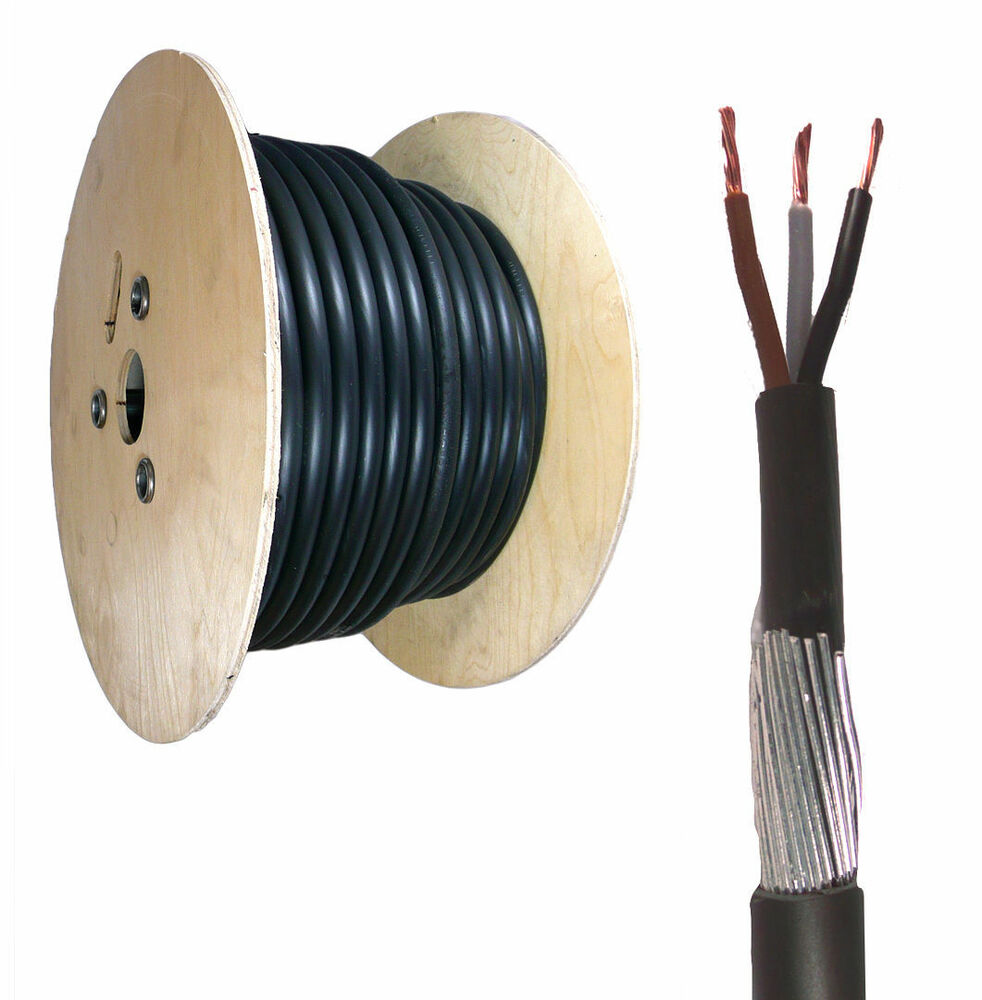 Armored Electrical Cable : M mm core steel wire armoured cable swa