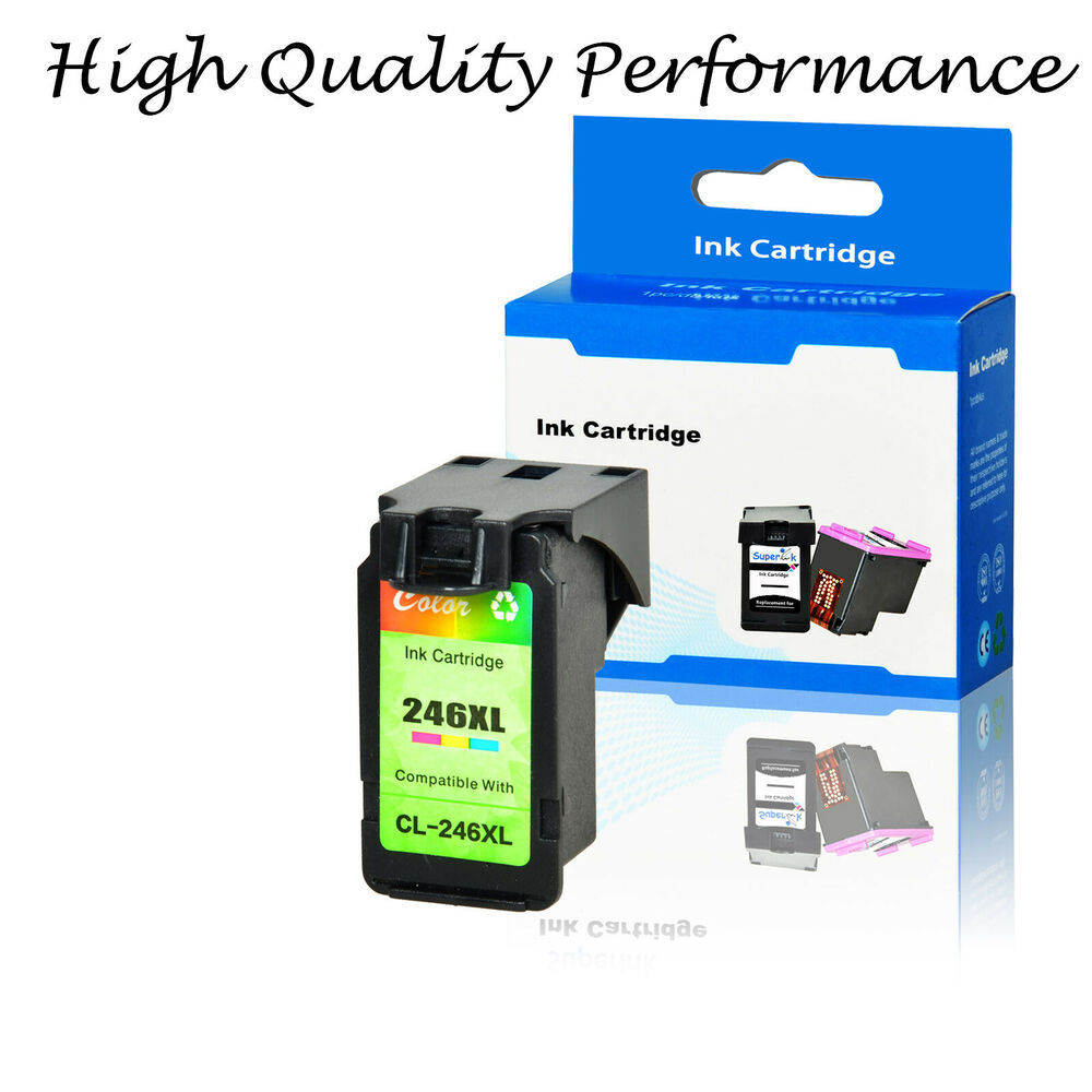 1PK CL-246XL Color Ink Cartridge Compatible For Canon