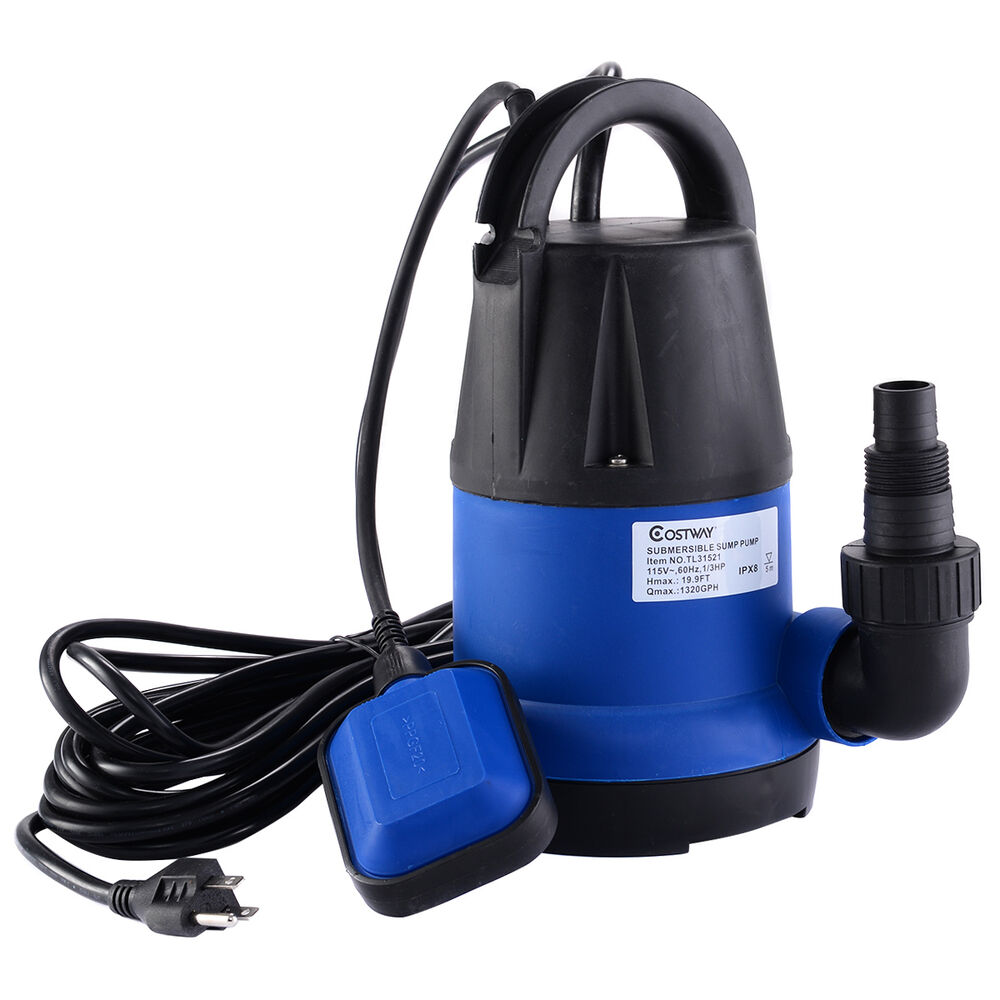 Cleaning Swimming Pool Pump : Costway hp gph submersible clean water pump