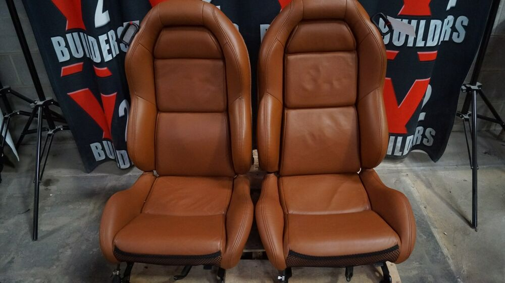 dodge viper 1997 2002 seats cognac used ebay. Black Bedroom Furniture Sets. Home Design Ideas