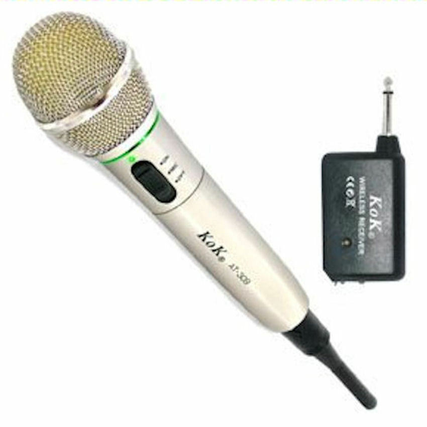 Microphone Y Cable : Microphone wireless y with cable for dj karaoke etc