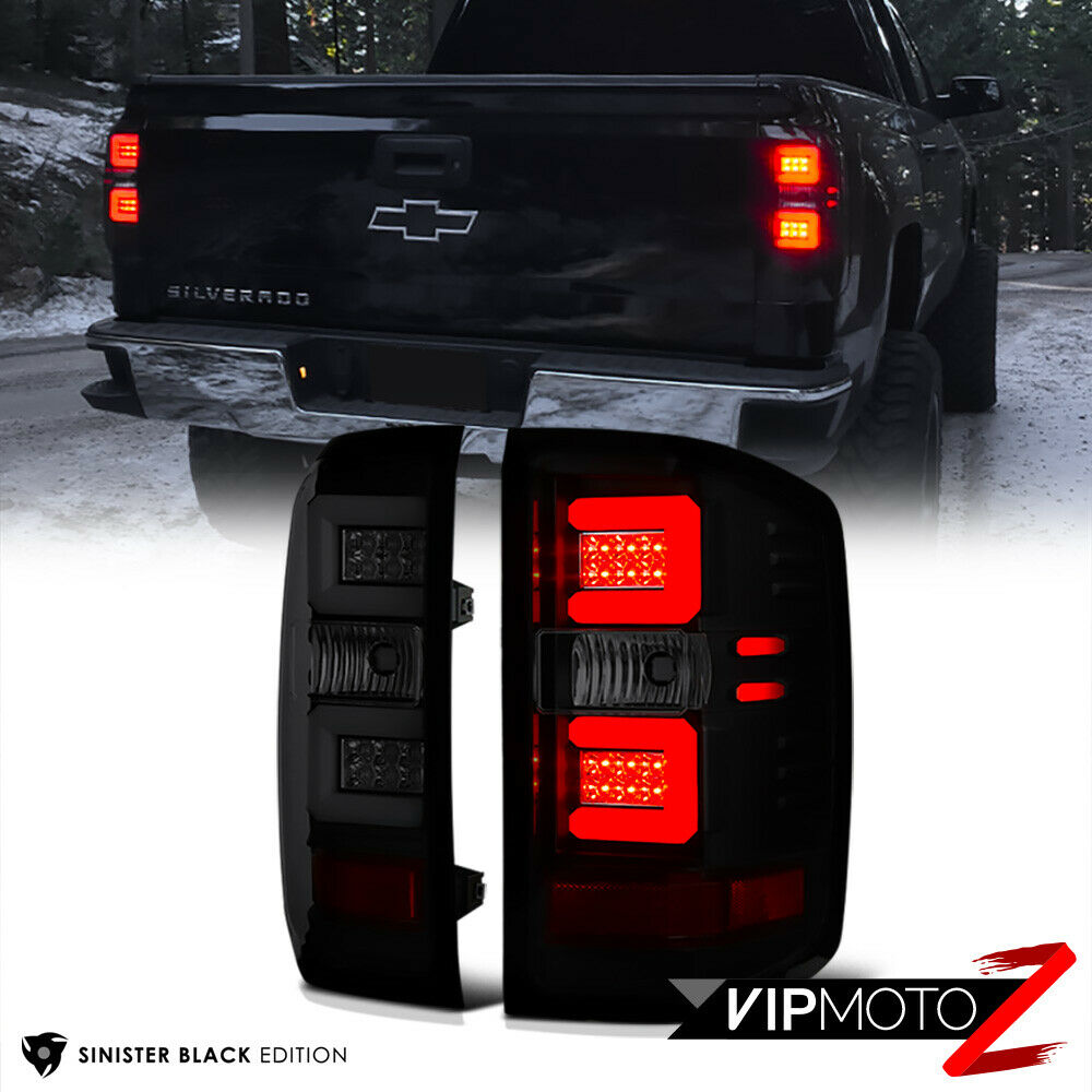 Sinister Black Smoke Led Neon Tube Tail Lights 2016 2018