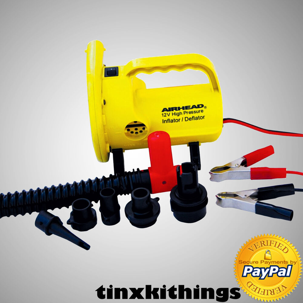 Portable High Pressure Air Pump For Inflatable Raft Boat